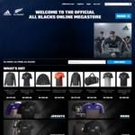 All Blacks Shop Vouchers & Promo Codes NZ